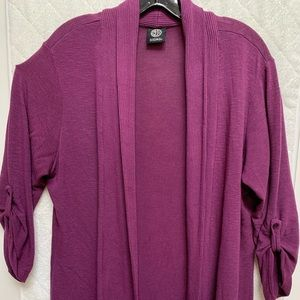 Bobeau Purple Sweater
